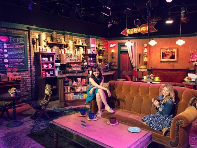 One of the highlights of 2015 was my first trip to California.  Jennafer and I spent an embarrassing amount of time taking pictures on the Central Perk set. We have no regrets.